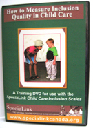 How to Measure Inclusion Quality Scale in Child Care DVD